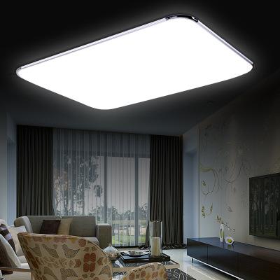 LED吸顶灯亚克力铝材客厅灯现代简约长方形卧室灯厂家批发爆款