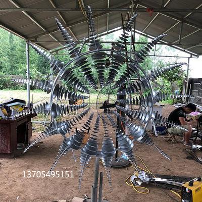 不锈钢雕塑定制大型不锈钢户外园林不锈钢雕塑雕塑风动304