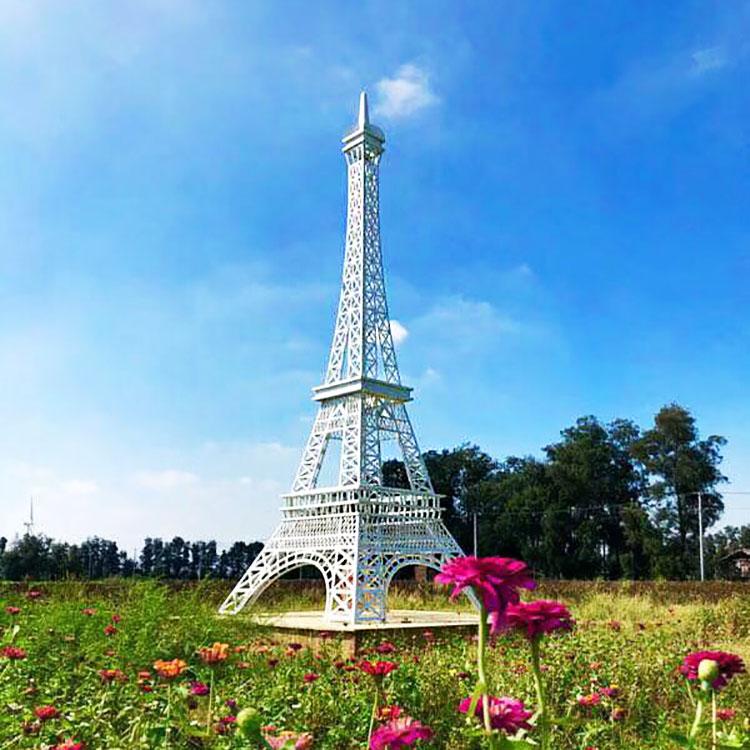 厂家直销商场节日庆典大型钢结构巴黎埃菲尔铁塔 美陈摆件