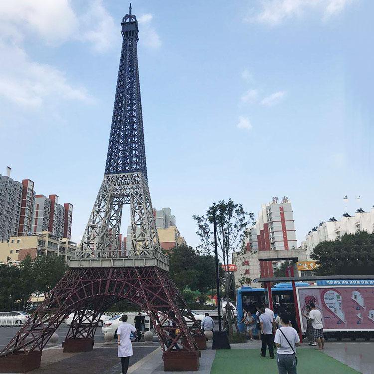 婚庆婚纱摄影道具摆件定制法国大型巴黎艾菲尔铁塔模型源头厂家