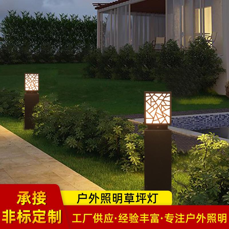 厂家供应led别墅花园草坪灯 户外欧式仿古小区庭院灯草坪灯
