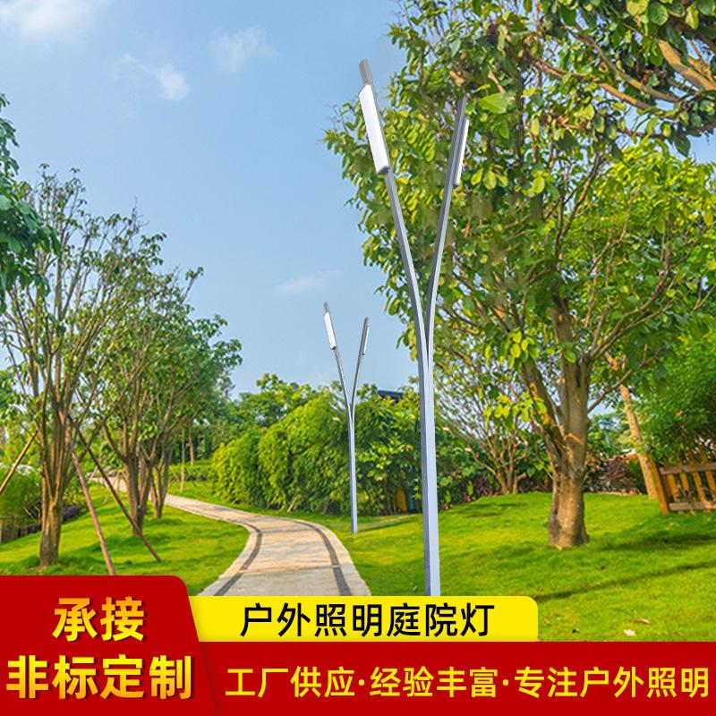 中式风别墅区庭院灯 小区道路照明LED户外庭院灯铝型材景观灯