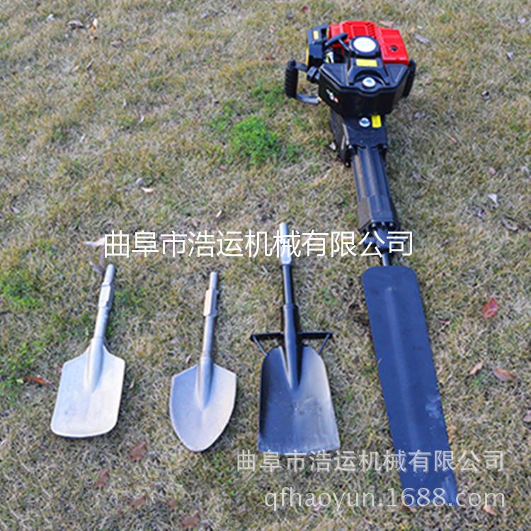 便携式汽油起树挖树机移苗机 多型号锯齿割土断根机 铲式挖树机