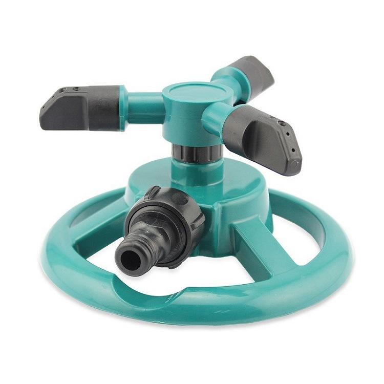 圆盘喷洒器园林喷灌溉浇花浇灌喷头自动旋转洒水器园林工具