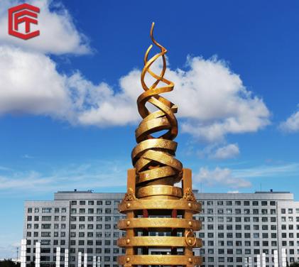 厂家定制不锈钢景观工程雕塑户外城市广场大型不锈钢雕塑来图定制