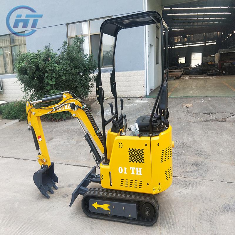 山东厂家长期供应小型挖掘机 10型履带式小挖机 农用小型挖机