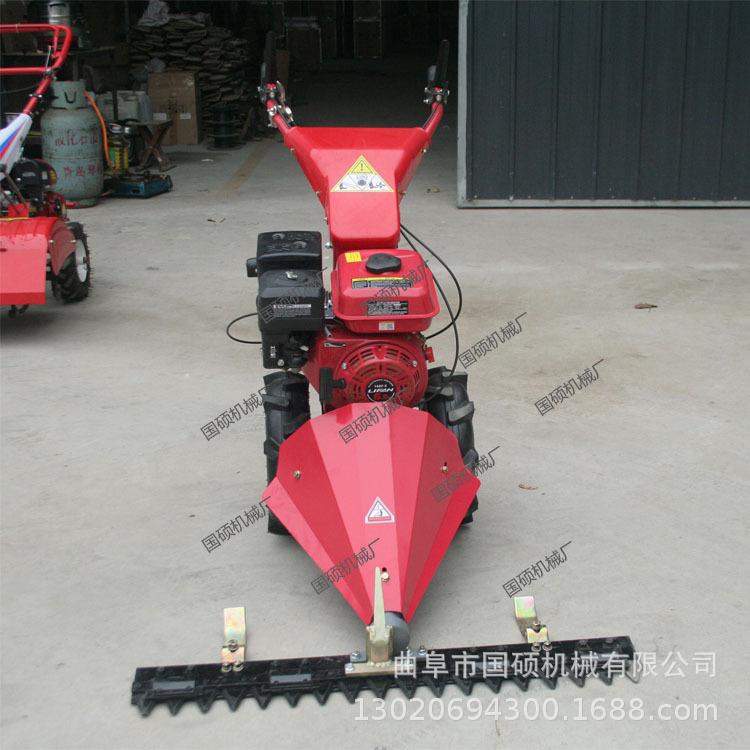 手推式杂草剪草机 自走式农用汽油剪草机 轻便实用大功率除草机