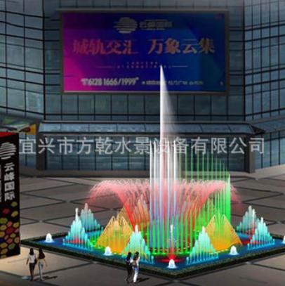 江苏厂家定制喷泉设备 音乐喷泉 水广场喷泉 喷泉工程