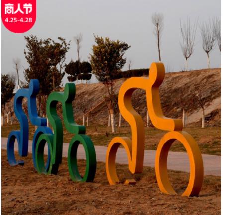 城市景观玻璃钢摆件景观雕塑小品雕塑商场门口玻璃钢雕塑厂家定制