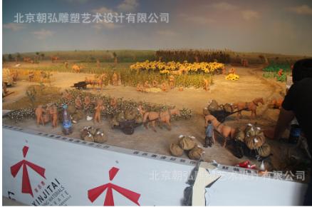 博物馆沙盘供应 景观艺术沙盘展览展示 动态沙盘