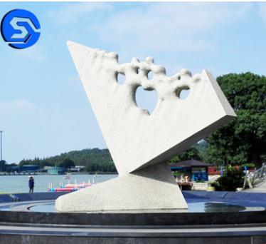 厂家供应大理石雕塑摆件 可定制校园广场园林水景雕塑