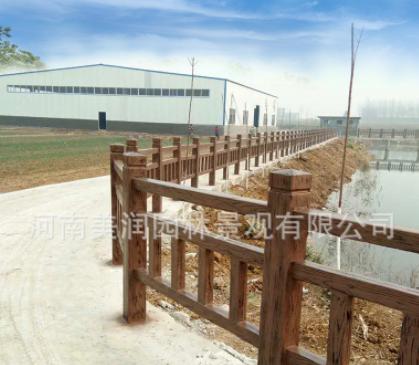 71厂家水泥仿木栏杆大客户接待中心旗舰店仿木护栏厂全国配货直发