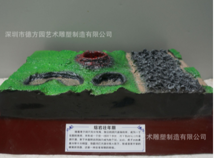 十八种地形地貌模型 典型地理园地貌 教学模型专业生产厂家