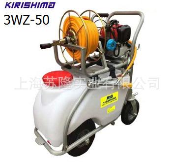 雾岛3WZ-50推车式喷雾机 手推式喷雾器 50L高压打药机